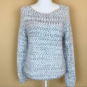 Buffalo David Bitton eyelash chunky sweater